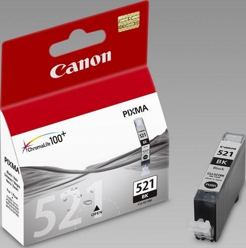 Картридж Canon CLI-521Bk черный