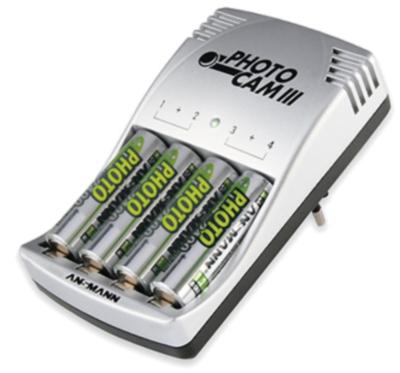 Зарядное устройство Ansmann 5007093 + 2850AA4