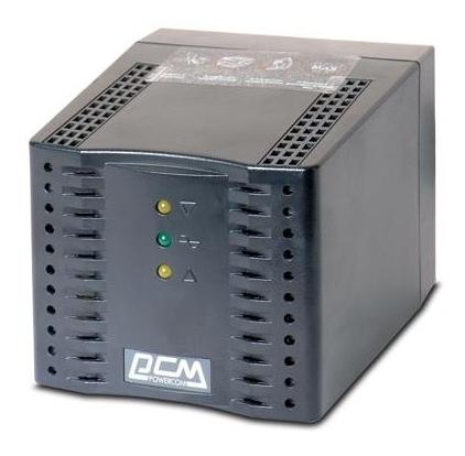 Стабілізатор Powercom TCA-1200 black