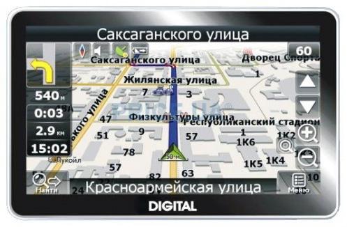 GPS навігатор Digital DGP-4311