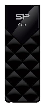 Накопитель USB 16G Silicon Power Ultima U03 Black (SP016GBUF2U03V1K)