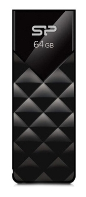 Накопичувач USB 64Gb Silicon Power Ultima U03 Black (SP064GBUF2U03V1K)