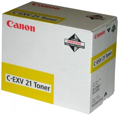 Тонер Canon C-EXV21 Yellow iRC2880 (0455B002)
