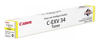Тонер Canon C-EXV34 Yellow для iRC2020/2030 (3785B002AA)