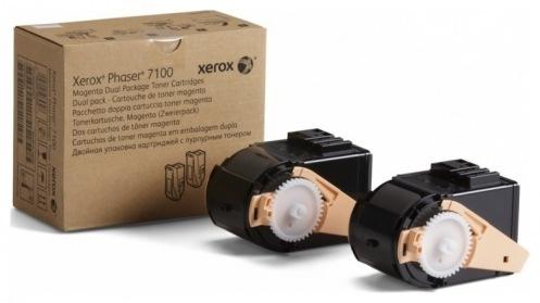 Тонер картридж Xerox PH7100 Magenta (Max) (106R02610)