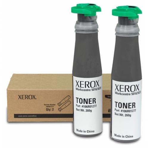 Тонер картридж Xerox WC 5016/ 5020 (комплект из 2шт) (106R01277)