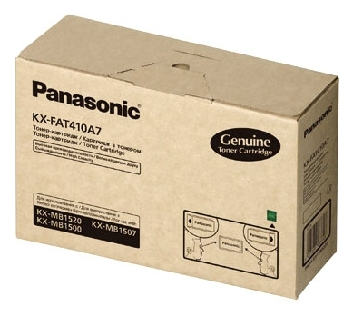 Тонер-картридж Panasonic KX-FAT410A7 (2500стр) для KX-MB1500/1520