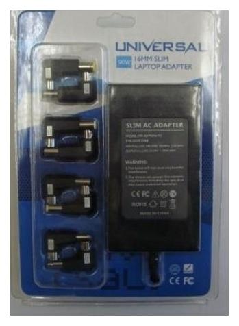Универсальный блок питания для ноутбуков PowerPlant LCD 12V +220 V, 90W (KD00MS0013)