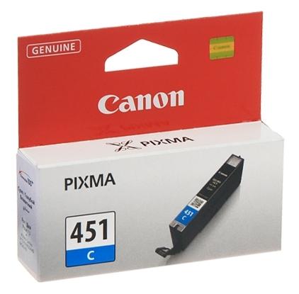Чернильница Canon CLI-451C (Cyan) PIXMA MG5440/MG6340 (6524B001)