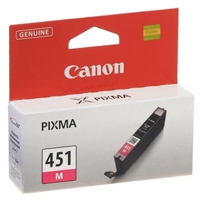 Чернильниця Canon CLI-451M (Magenta) PIXMA MG5440/MG6340 (6525B001)