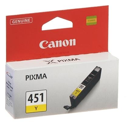 Чернильница Canon CLI-451Y (Yellow) PIXMA MG5440/MG6340 (6526B001)