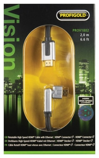 Кабель HDMI Profigold PROV1802