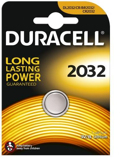 Батарейка DL 2032 DSN (CR2032) Duracell Litium, 1шт, 3V (81373217)
