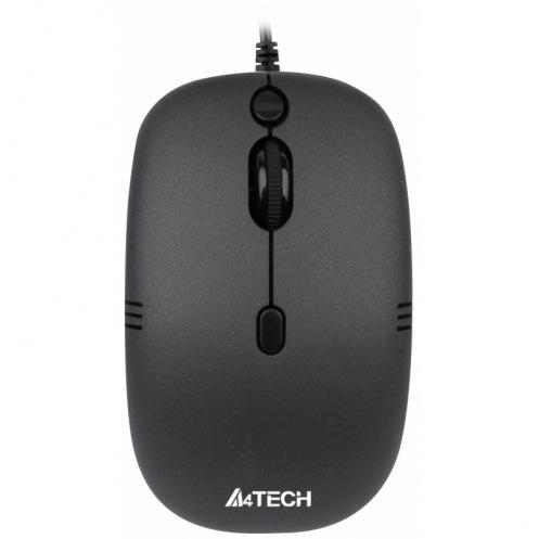 Миша A4Tech N-551FX-1 чорна, V-Track, USB