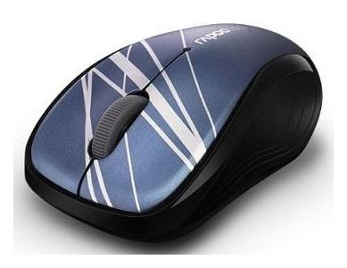 Мышь Rapoo Wireless Optical 3100р blue