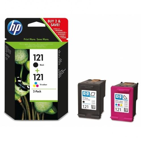Набор картриджей HP 121 Black + 121 Tri-color Combo Pack (CN637HE)