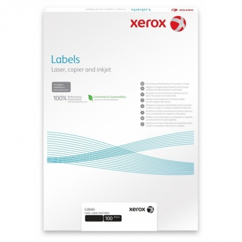 Наклейка Xerox Mono Laser 30UP (squared) 70x29, 7mm 100л. (003R97409)