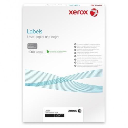Наклейка Xerox Mono Laser 65UP (rounded) 38.1x21.2