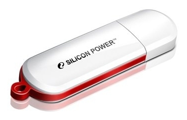 Накопитель USB 16Gb Silicon Power LUX mini 320 White (SP016GBUF2320V1W)