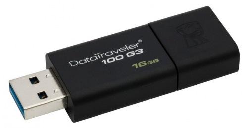 Накопитель USB 3.0 16GB Kingston DataTraveler 100