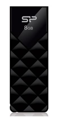Накопитель USB 8Gb Silicon Power Ultima U03 Black (SP008GBUF2U03V1K)