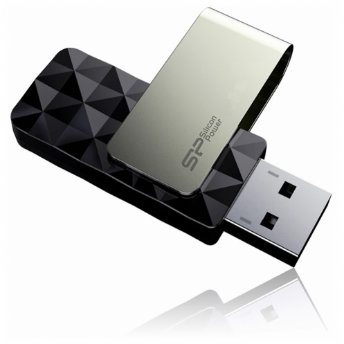 Накопитель USB3.0 32Gb Silicon Power BLAZE B30 Black (SP032GBUF3B30V1K)