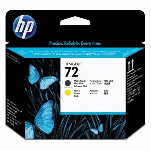 Печатающая головка HP 72 Matte black, Yellow (C9384A)