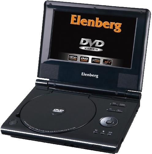 Портативный DVD-плеер Elenberg PDVD-196LP