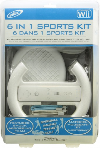 Wii ACC 6in1 Max MotionSport Kit (10603)