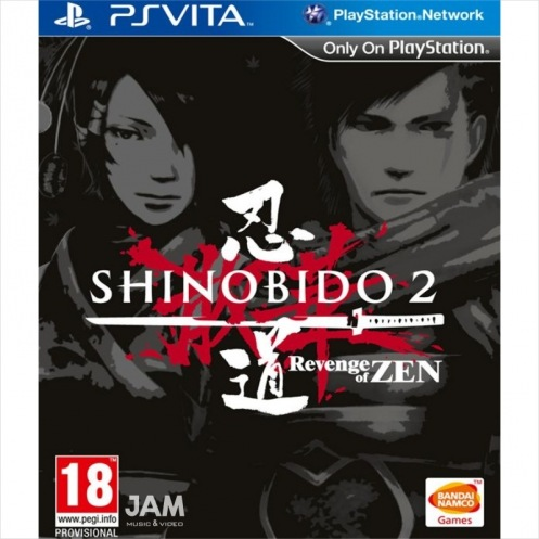 PS Vita Shinobido 2: Revenge of Zen