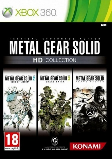 XBOX 360 Игра Metal Gear Solid HD Collection