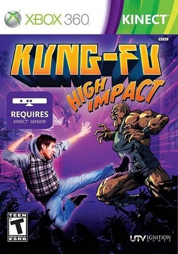 Игра Xbox 360 Kung-Fu: High Impact (Kinect)