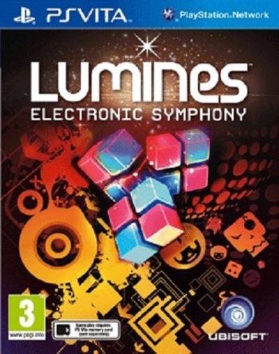 Видеоигра PS VITA Lumines (русская полиграфия)