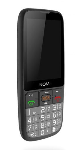 Мобильний телефон Nomi i281 Black