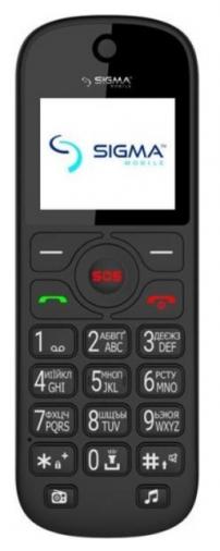Мобильний телефон SIGMA Comfort 50 Senior Black