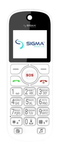Мобильний телефон SIGMA Comfort 50 Senior White