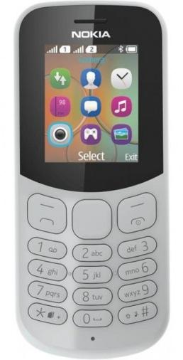 Мобильный телефон Nokia 130 Dual Sim New Gray (A00028617)