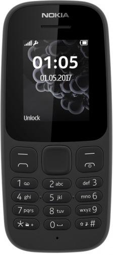 Мобильный телефон NOKIA 105 DS New Black