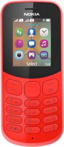 Мобильный телефон NOKIA 130 DS New Red