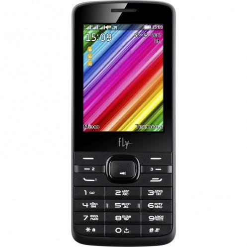 Мобильный телефон FLY TS113 Triple Sim Black