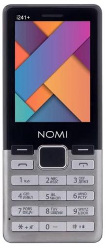 Мобильний телефон Nomi i241+ Metal Steel