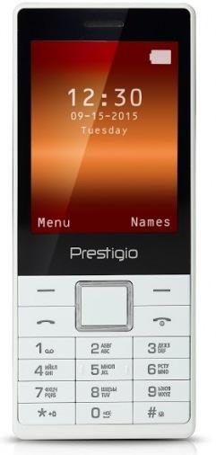 Мобильный телефон Prestigio 1285 Muze D1 Dual White (PFP1285DUOWHITE)