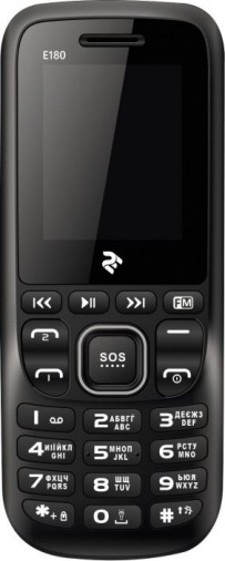 Мобильный телефон 2E E180 Dual Sim Grey