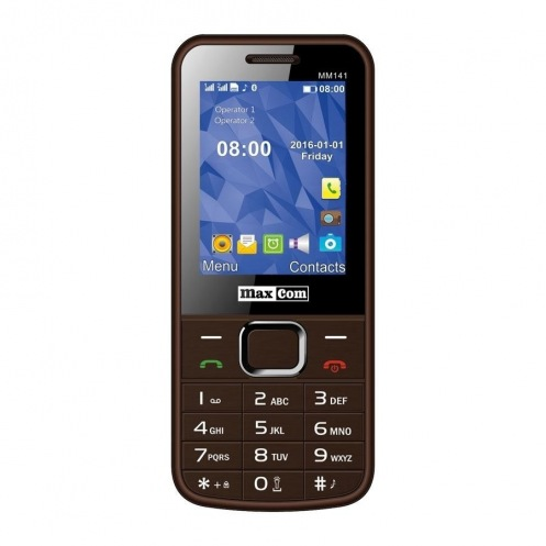 Мобильний телефон Maxcom MM141 Brown