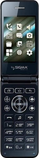 Мобильний телефон SIGMA X-style 28 Flip Blue