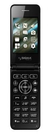 Мобильный телефон SIGMA X-style 28 Flip Black
