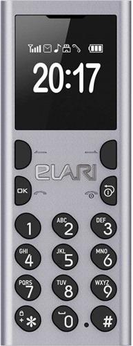 Мобільний телефон ELARI NanoPhone C Silver (LR-NPC-SLV)