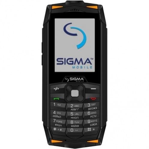 Мобильный телефон SIGMA Х-treme DR68 Black Orange