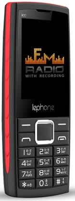 Мобильный телефон Lephone K10 Black-Red