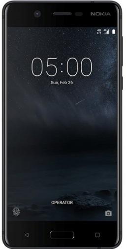 Смартфон NOKIA 5 Dual Sim Matte Black